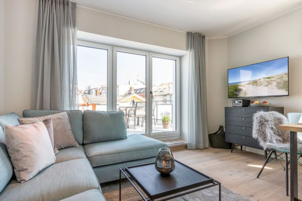 Sylter Penthouse Wohnung Dachterasse