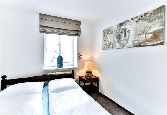 3 Zimmer Ferienwohnung Sylt Schlafzimmer